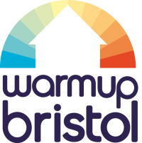 Warm Up Bristol Logo and link to website