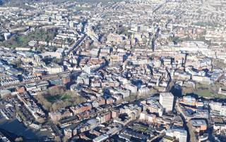 City of Bristol Aerial Photo Slide