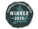 Community Energy Award - Winner 2019 Logo